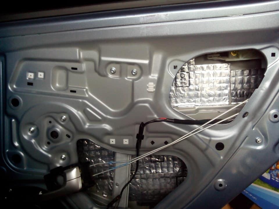 Шумоизоляция дверей автомобиля своими руками
