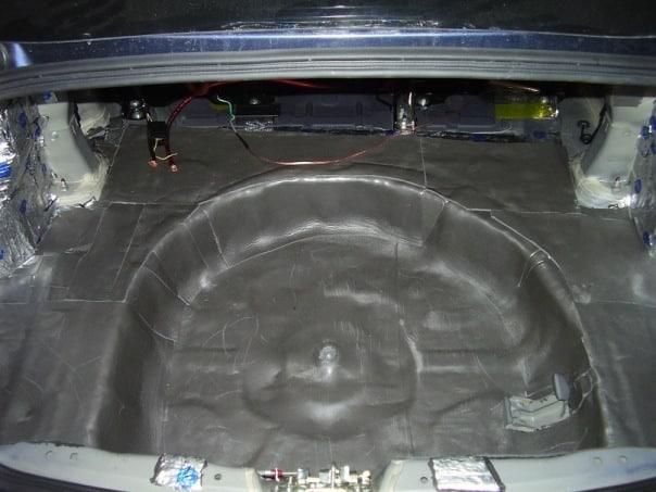 Шумоизоляция багажника своими руками