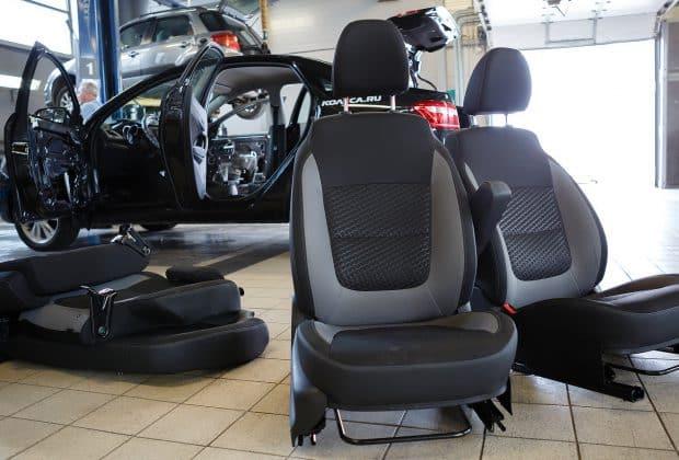Как снять сиденья на Ладе Веста + выбор и установка чехлов