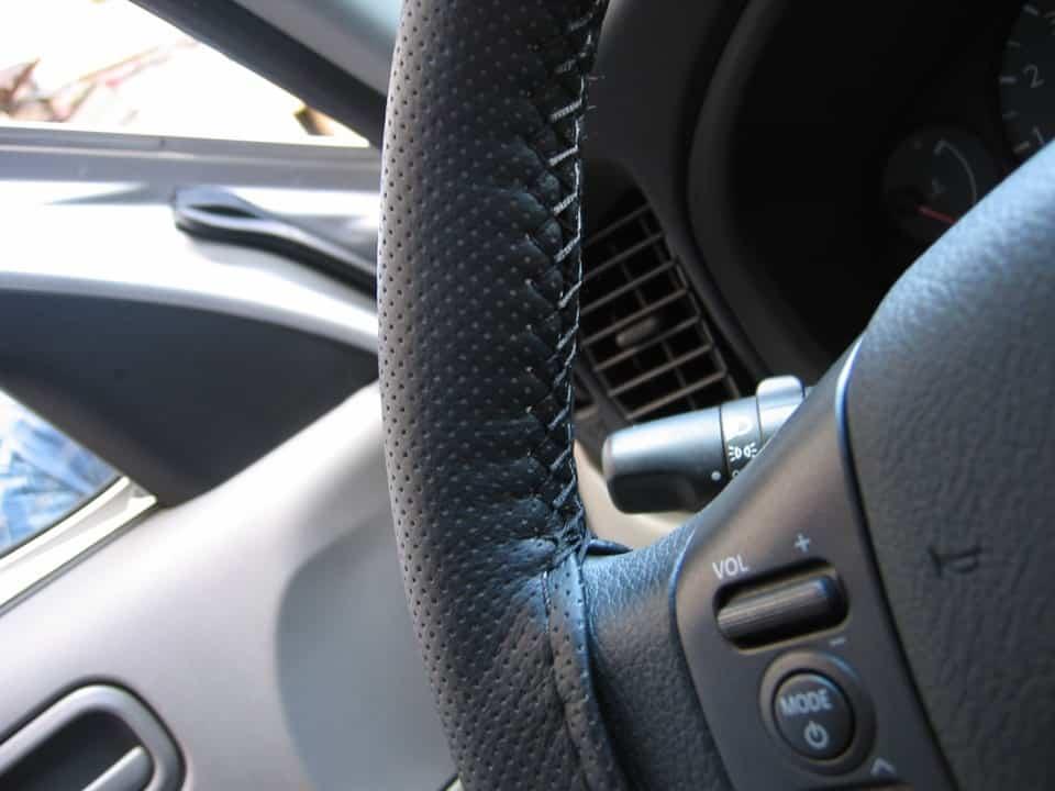 Как надеть оплетку на руль