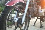 Замена подшипников колеса мотоцикла