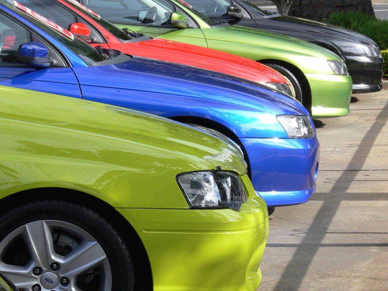 Классный цвет машины