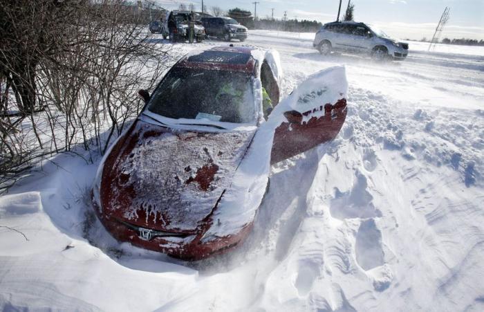 Как ездить на автомате зимой
