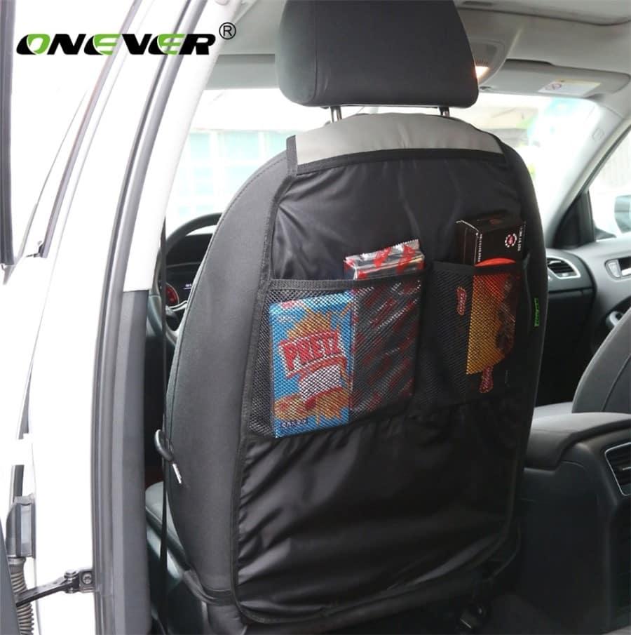 Купить органайзер-накидку на переднее сидение для хранения вещей на Алиэкспресс
