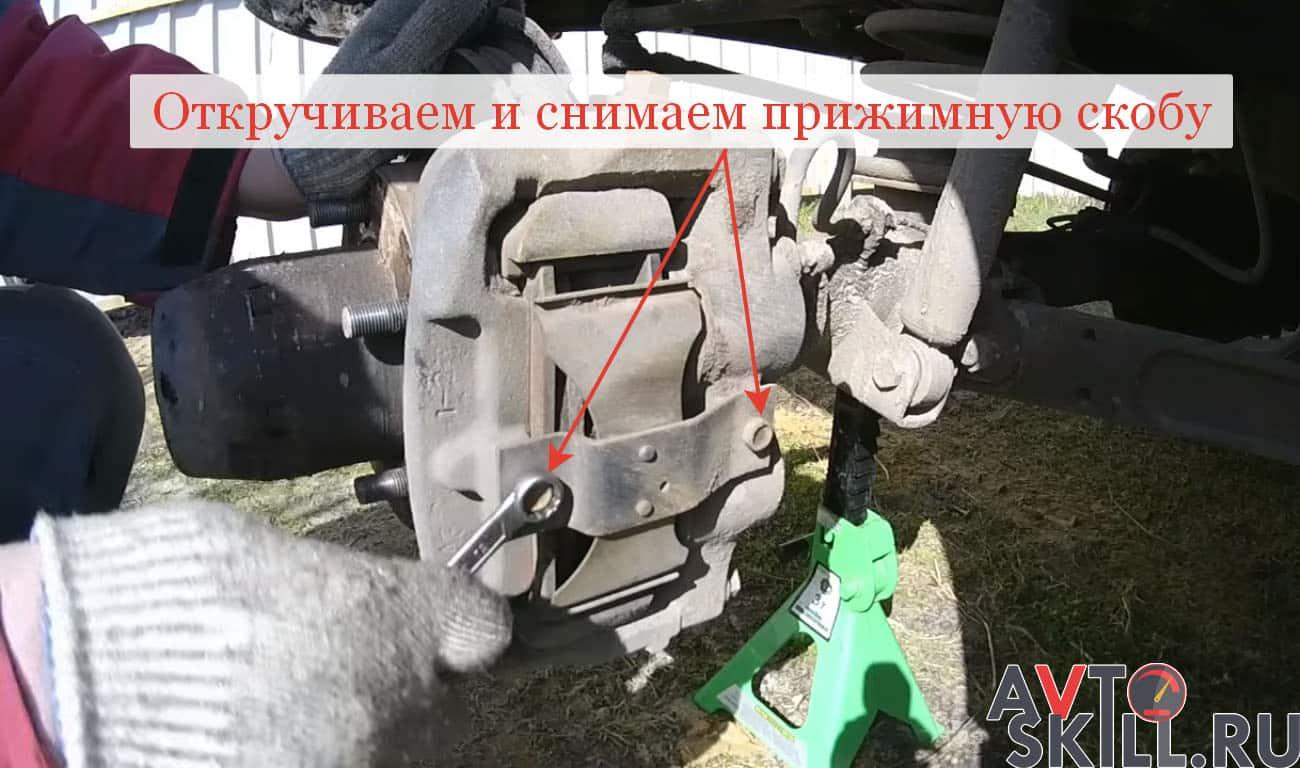 Замена шкворней на УАЗ «Патриот» своими руками