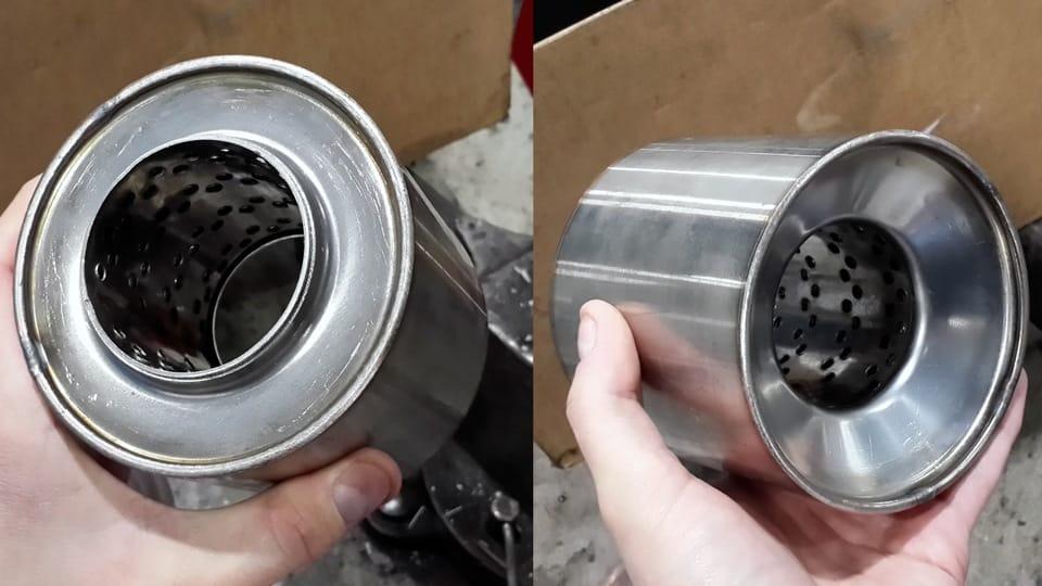 Замена катализатора на пламегаситель | Как выбить катализатор и стоит ли это делать
