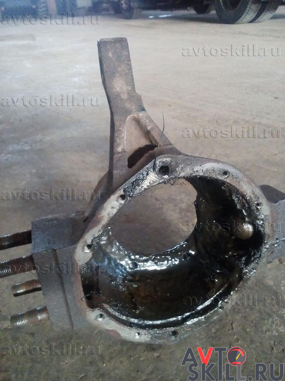 Замена шкворней на УАЗ «Буханка» своими руками