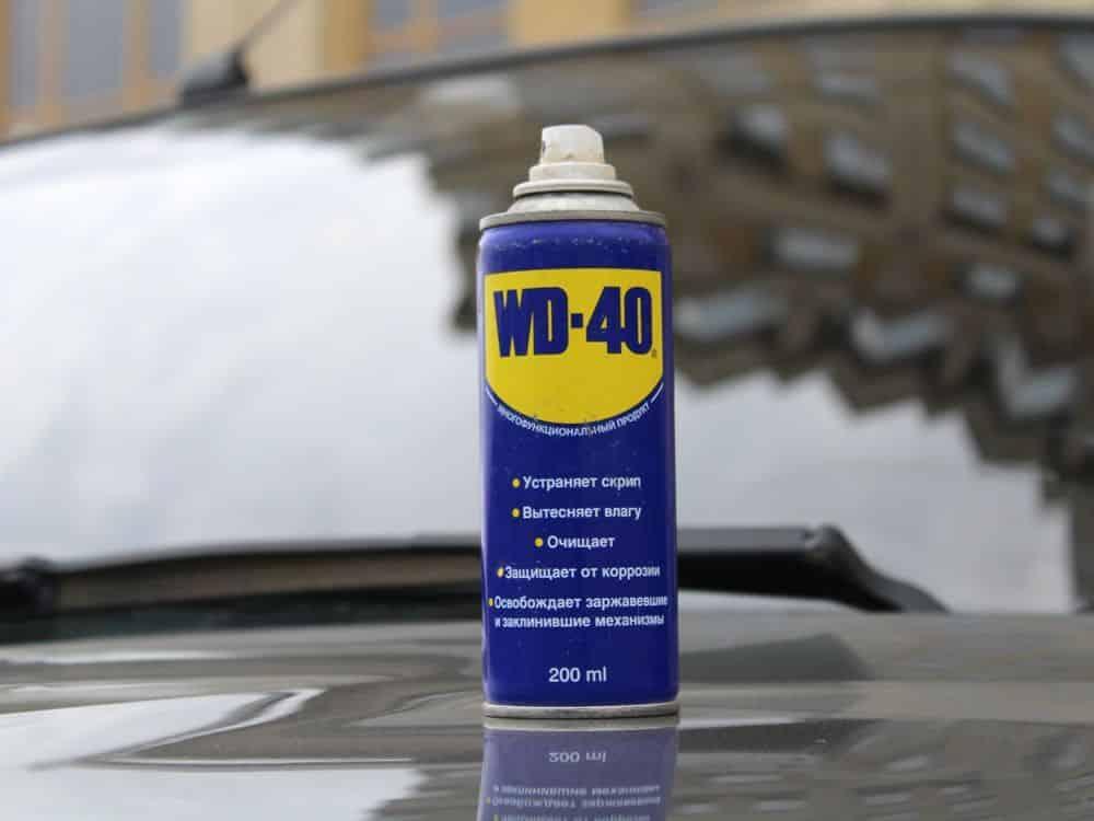 Антикоррозионная водоотталкивающая смазка WD - 40 | Антидождь своими руками: 4 рецепта для стекол и кузова автомобиля
