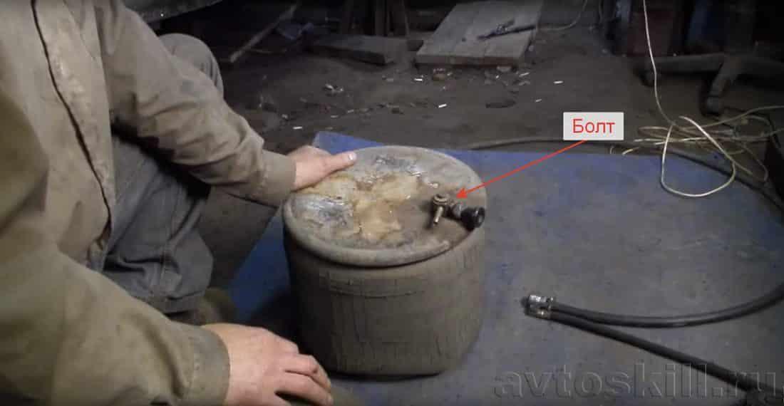 Пневматический домкрат своими руками | Как сделать домкрат своими руками: инструкция с фото и видео