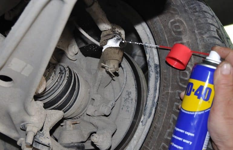 Как открутить гайку рулевого наконечника | Как снять рулевой наконечник без съемника