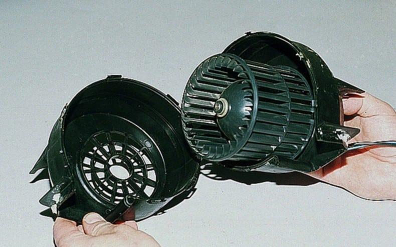 Как снять моторчик печки | Чем и как смазать моторчик печки
