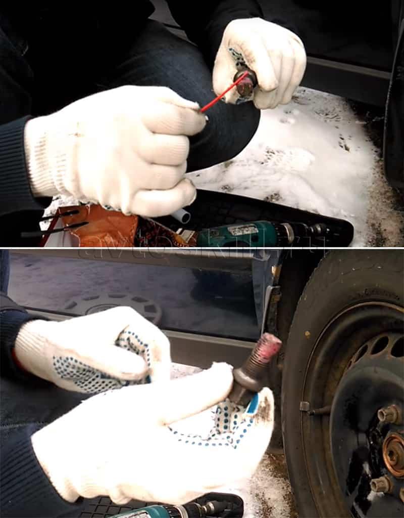 Нужно ли смазывать колёсные болты | Смазывать ли колесные болты и чем
