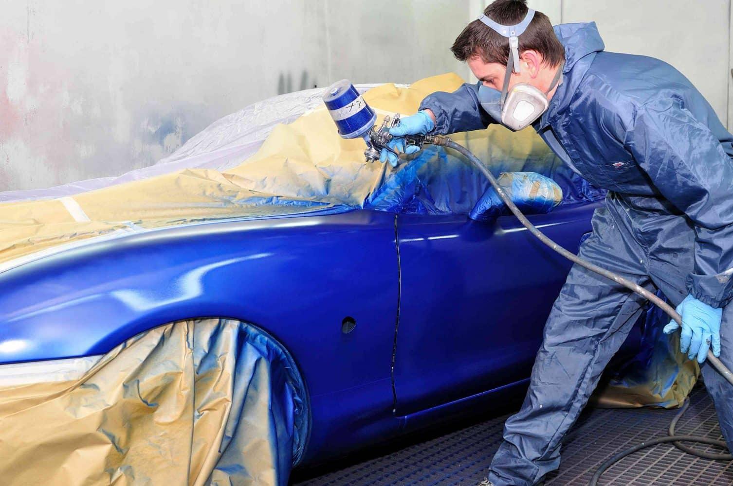 Способы нанесения лакокрасочных покрытий | Как подобрать цвет краски для автомобиля
