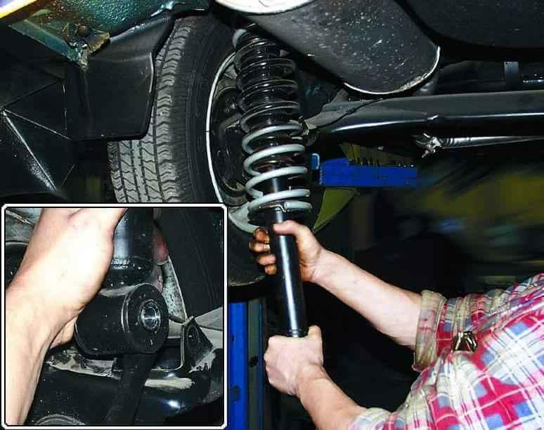 Сломалась стойка амортизатора | Стук, скрежет, скрип, хруст в колесе при повороте