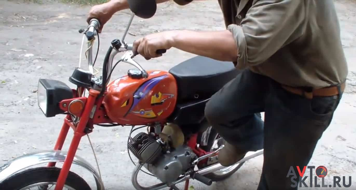 Два способа, как завести мопед с ключом зажигания | Как завести мопед (или скутер) без ключа зажигания