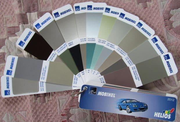 Как узнать цвет краски автомобиля по VIN