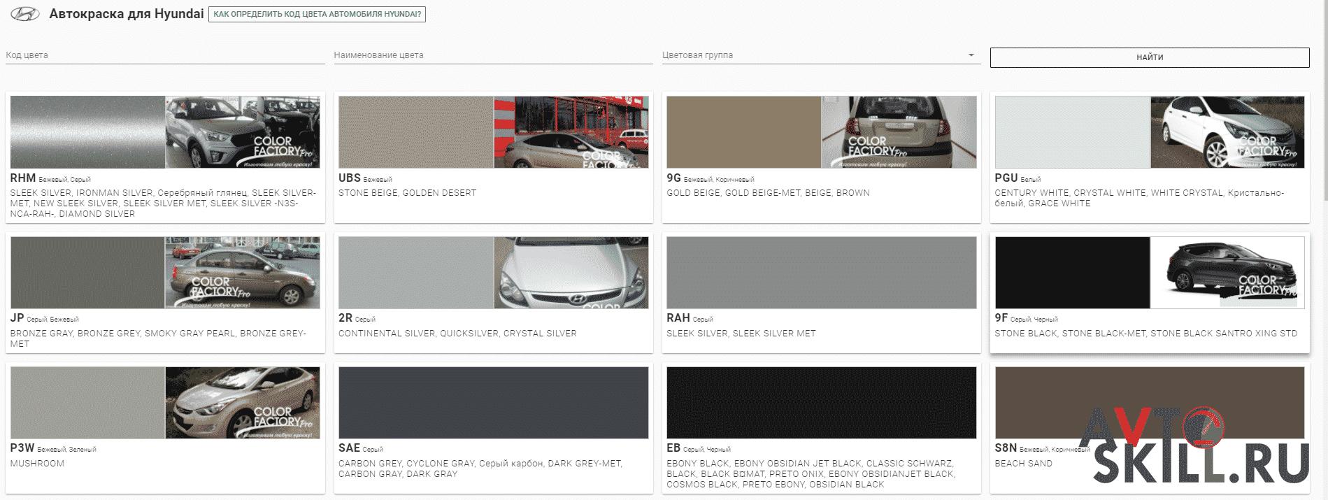 Как узнать цвет краски автомобиля по VIN | Как узнать цвет краски автомобиля по VIN