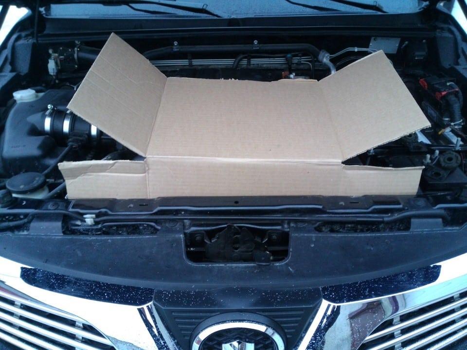 Теоретические знания | Как и чем утеплить решетку радиатора автомобиля зимой