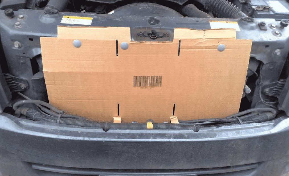 Как и чем утеплить решетку радиатора | Как и чем утеплить решетку радиатора автомобиля зимой
