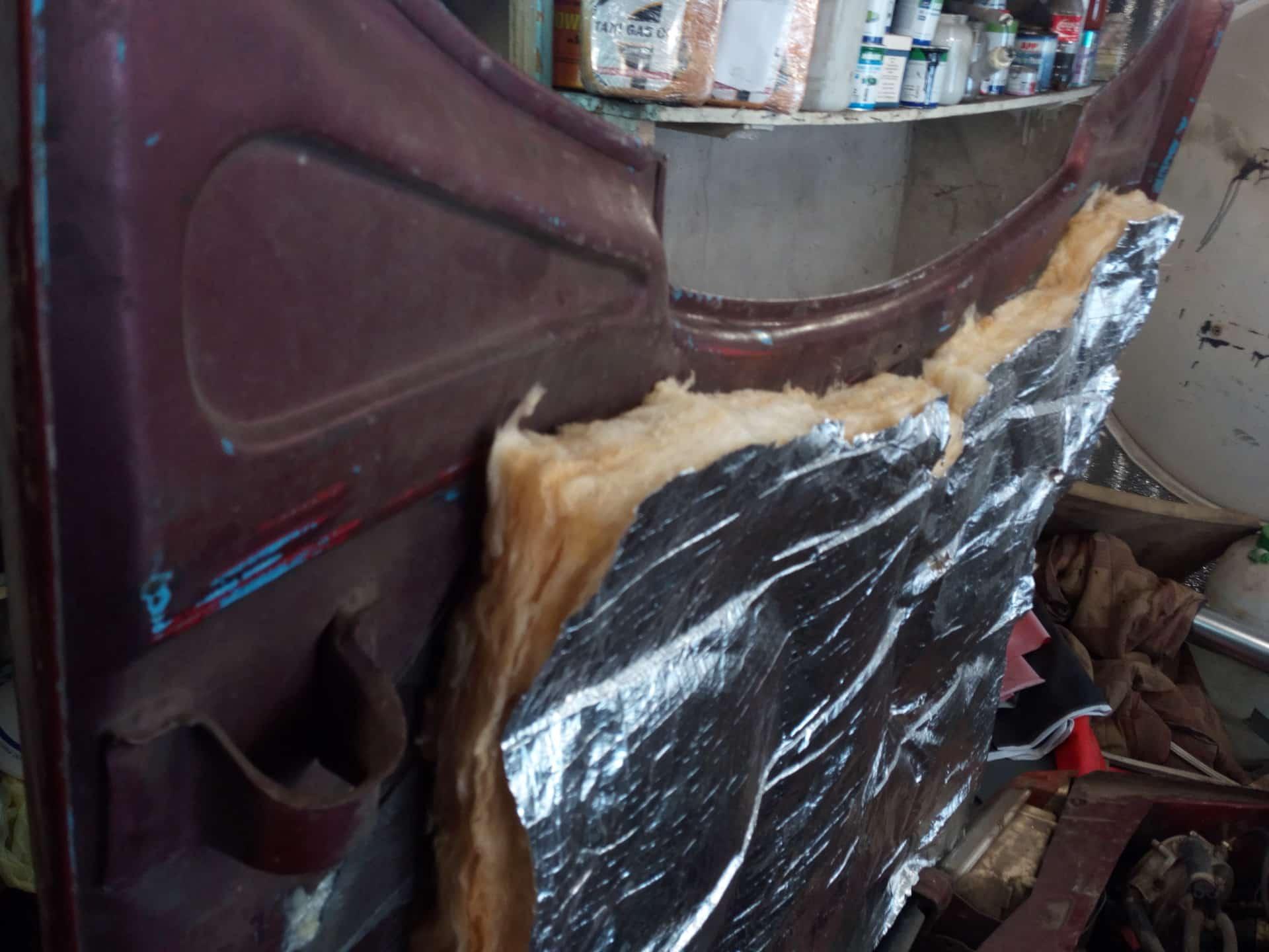 Утепление УАЗа Буханки минеральной ватой | Как утеплить УАЗ Буханку своими руками