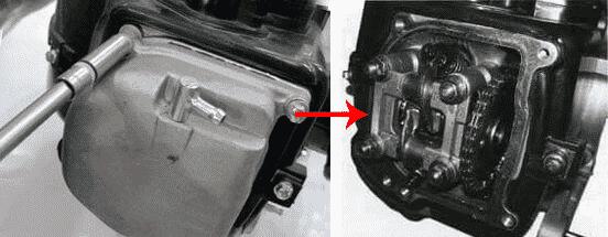 Как отрегулировать клапана на скутере 4т 50 кубов с мотором 139qmb