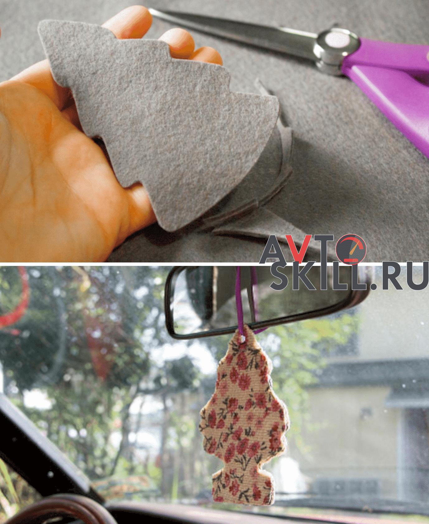 Ароматизатор-«ёлочка» в машину | Как сделать ароматизатор в машину своими руками