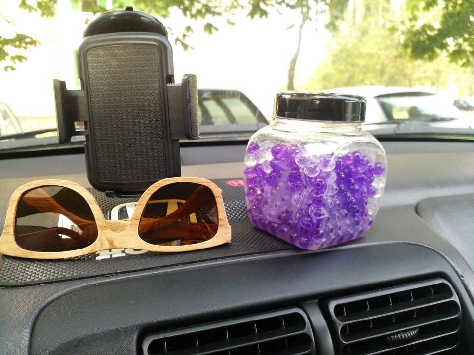 Ароматизатор из шариков гидрогеля | Как сделать ароматизатор в машину своими руками