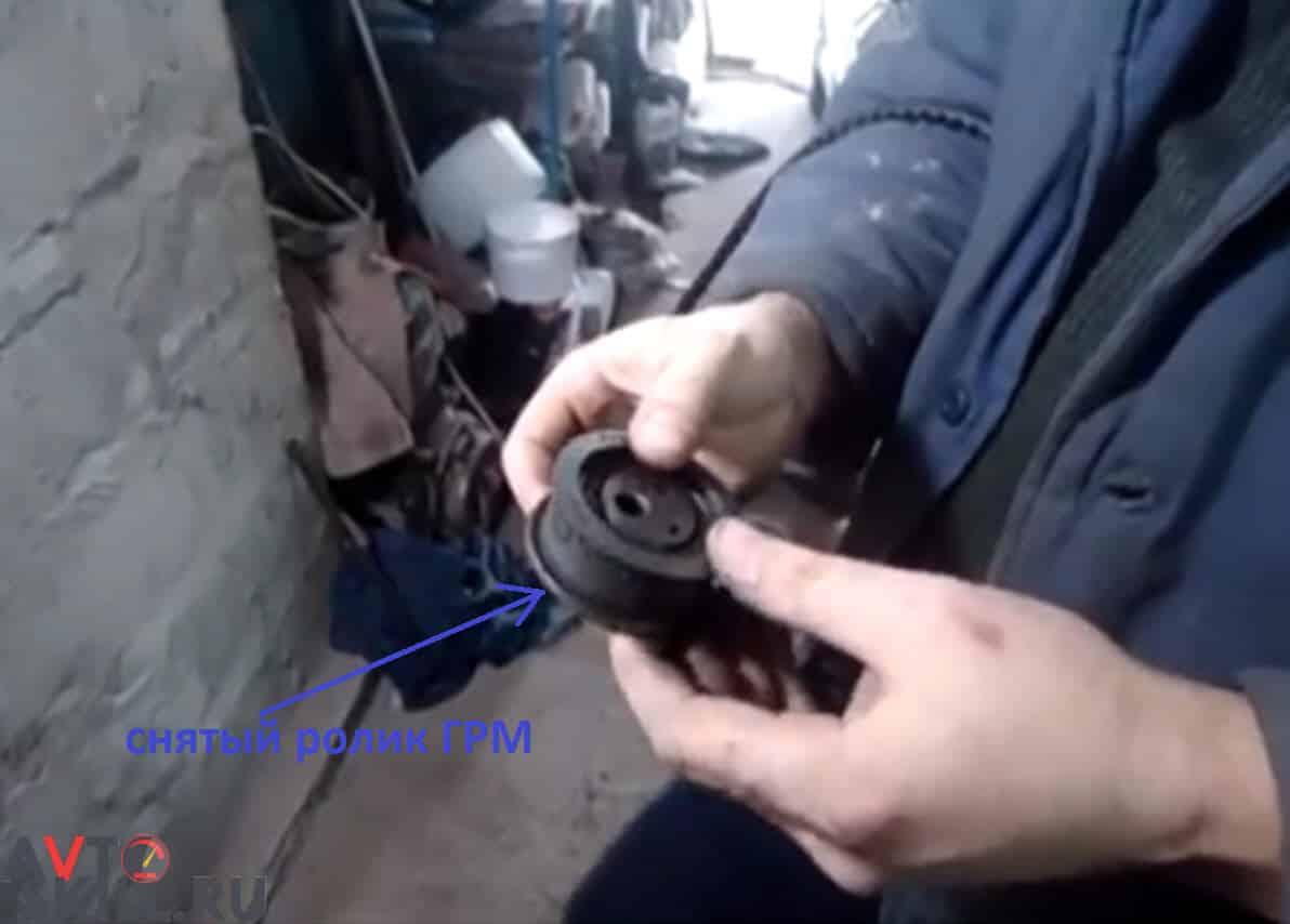 Как снять и смазать натяжной ролик ГРМ | Как и чем смазать ролик ГРМ: пошаговая инструкция с фото и видео, обзор смазок
