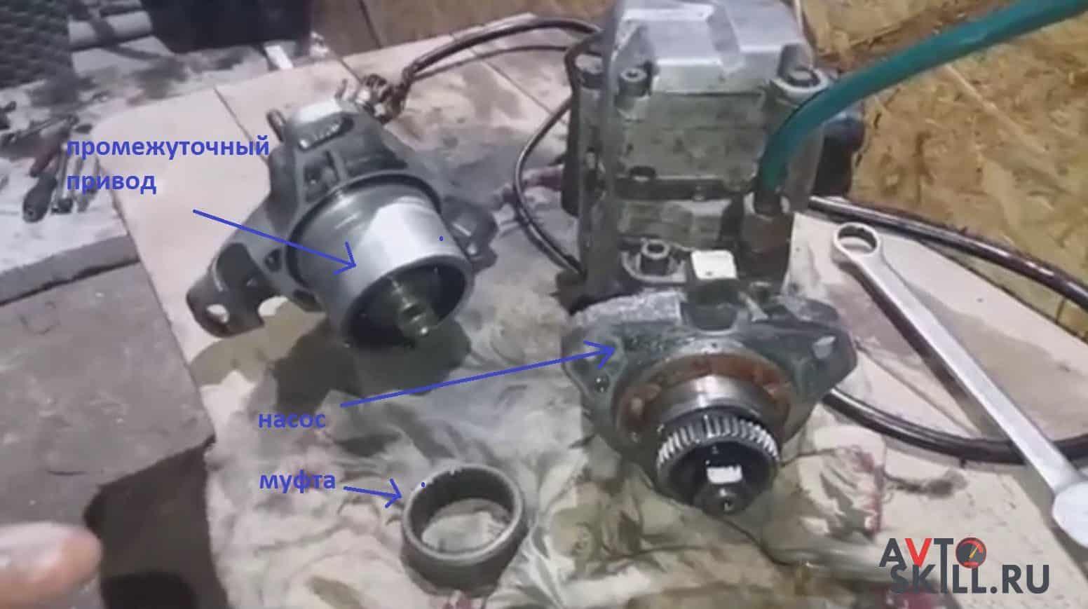 Как установить ТНВД на дизель | Установка ТНВД на двигатель, устройство топливного насоса высокого давления