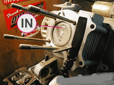 Как поставить поршень на скутер: снимаем старый, устанавливаем новый