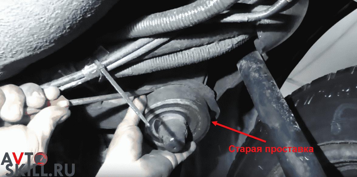 Установка задних проставок под пружины — пошаговая инструкция