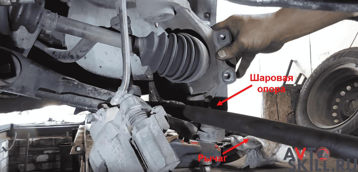 Установка передних проставок — пошаговая инструкция