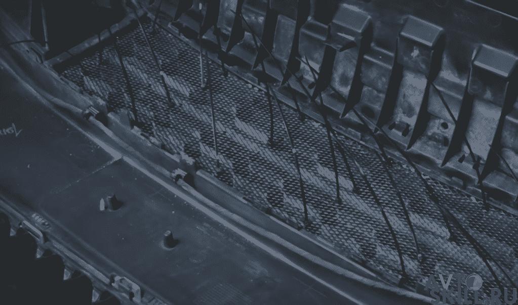 Установка сетки в бампер Весты | Как снять бампер на Ладе Весте: передний, задний