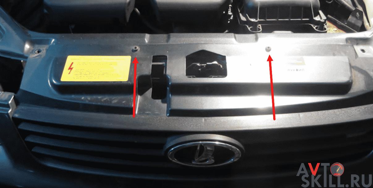 Как снять передний бампер на Приоре