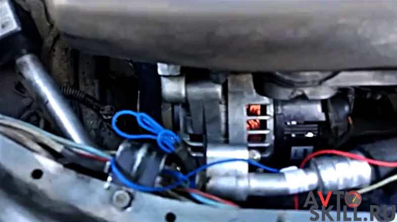 Другие способы снять генератор на Приоре