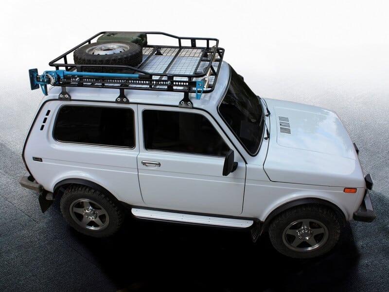 Как закрепить экспедиционный багажник | Экспедиционный багажник на Ниву своими руками