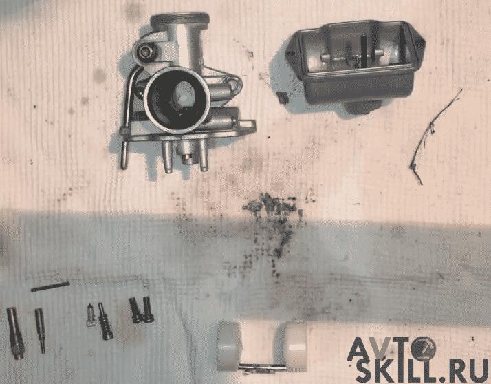 Как почистить карбюратор на мопеде — пошаговая инструкция | Как настроить карбюратор на мопеде Альфа